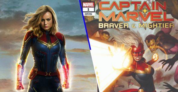 eBay lanza edición especial del primer cómic de 'Captain Marvel: Braver & Mightier #1'