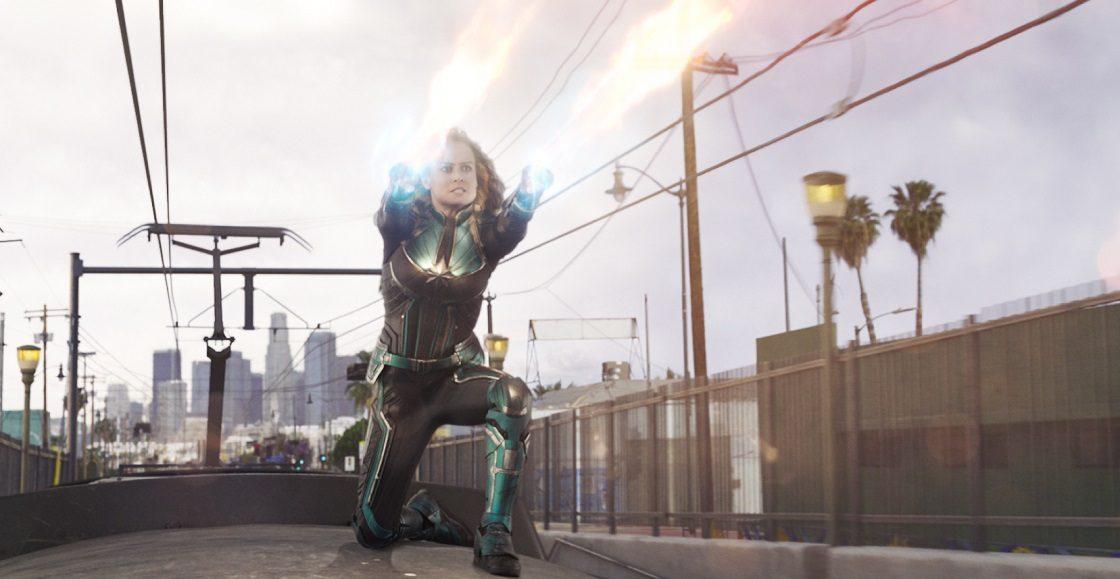 Captain Marvel - Escenas de acción