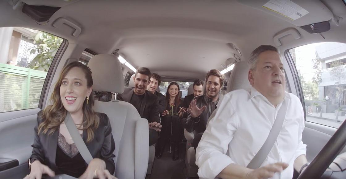 Netflix anuncia sus primeras oficinas en México con este carpool lleno de personajes de serie