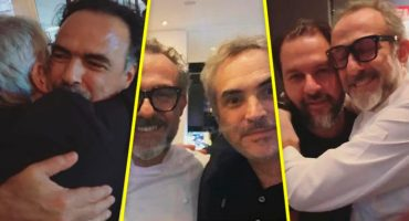 Cuando Cuarón e Iñárritu probaron una cena hecha por Massimo Bottura y Enrique Olvera