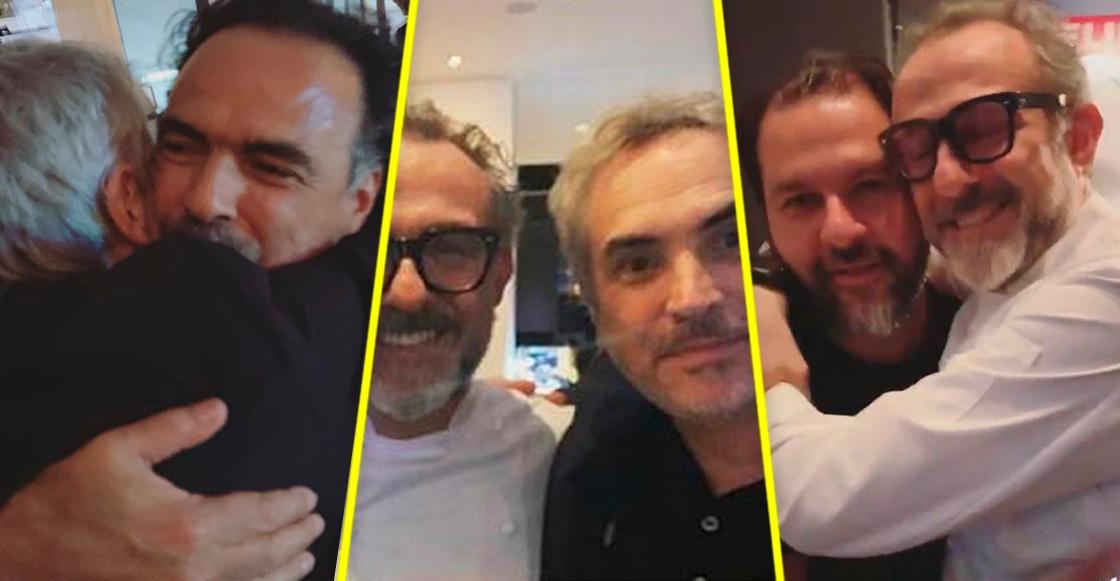 Massimo Bottura y Enrique Olvera cocinaron para Cuarón e Iñárritu
