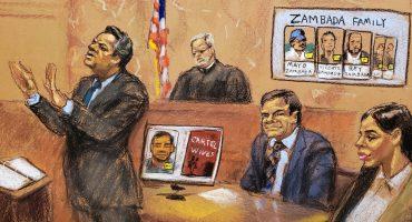 Estos son los exfuncionarios y políticos mexicanos que salieron embarrados en el juicio del Chapo