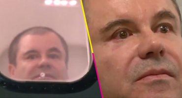 La DEA difunde un video del Chapo llorando el día de su extradición