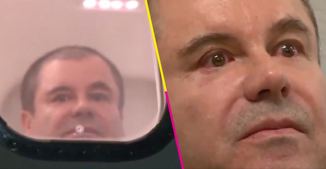 La DEA difunde un video del Chapo llorando el día de su extradiciónLa DEA difunde un video del Chapo llorando el día de su extradición