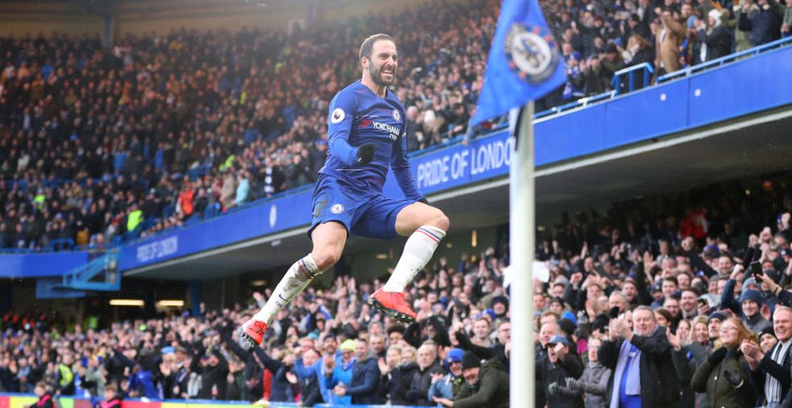 ¡Blue Power! Higuaín y Hazard guíaron la victoria del Chelsea sobre Huddersfield
