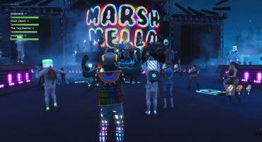 ¡Fascinante! Acá te dejamos el concierto que Marshmello dio a través de Fortnite