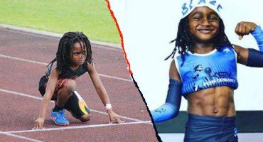Conoce a Rudolph Ingram, el pequeño 'flash' que es comparado con Usain Bolt