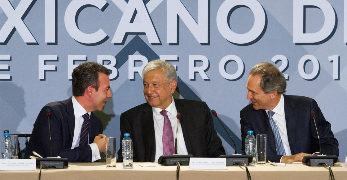 Consejo Mexicano de Negocios pide a AMLO poner fin a la extorsión sindical