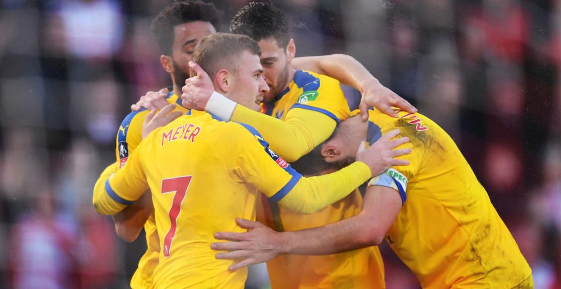 Crystal Palace cumple con los pronósticos y eliminó al Doncaster Rovers de la FA Cup