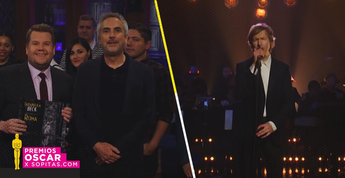 Alfonso Cuarón y Beck presentaron en vivo 'Tarántula', canción inspirada en 'ROMA'