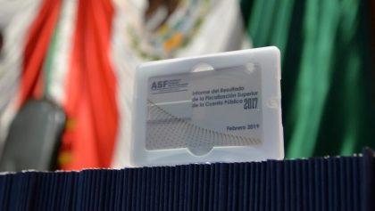 ASF detectó irregularidades en Cuenta Pública de 2017 por más de 68 mil millones de pesos