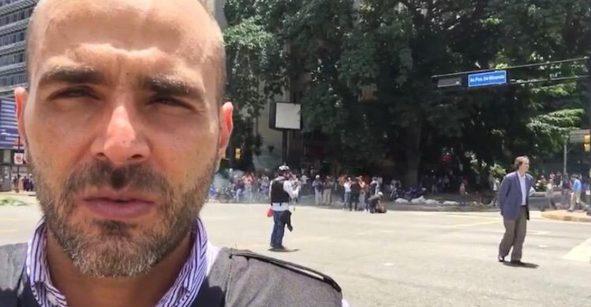 Autoridades de Venezuela liberan a Daniel Garrido, el periodista de Telemundo desaparecido