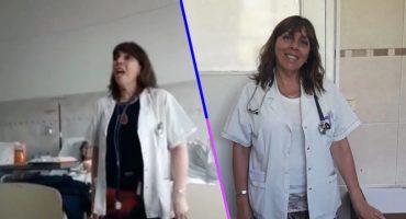 ¡Aplausos! Mira el conmovedor video de una doctora que canta