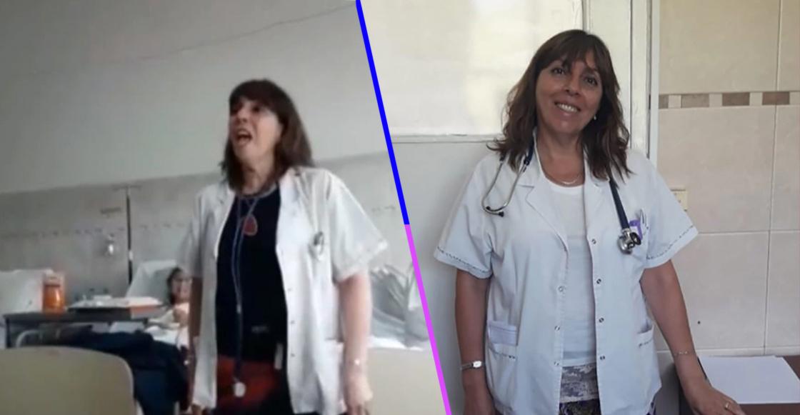 """¡Aplausos! Mira el conmovedor de una doctora que canta """"A mi manera"""" a sus pacientes enfermos"""