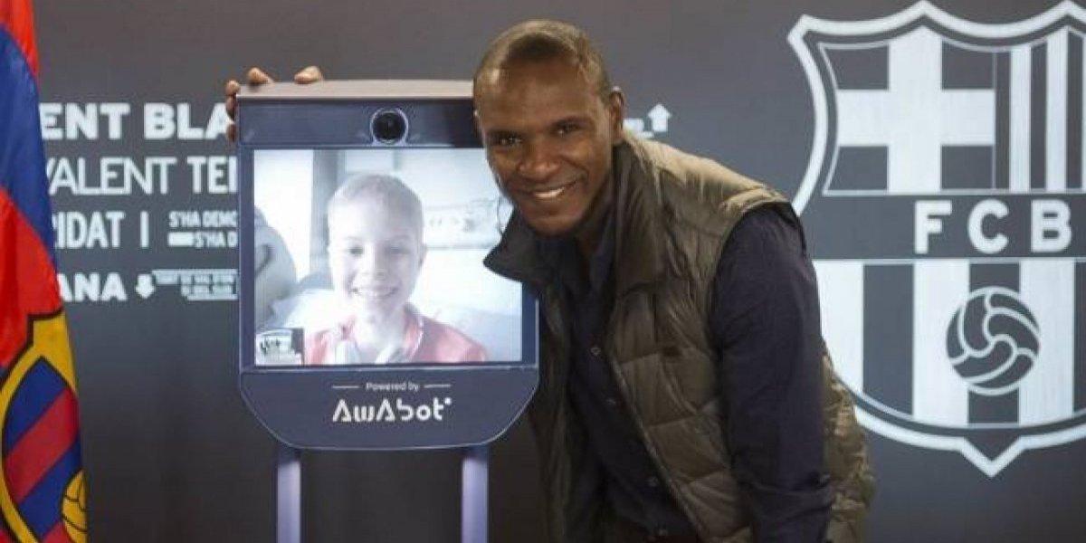 Niños hospitalizados 'estarán presentes' en la Champions League gracias a robots