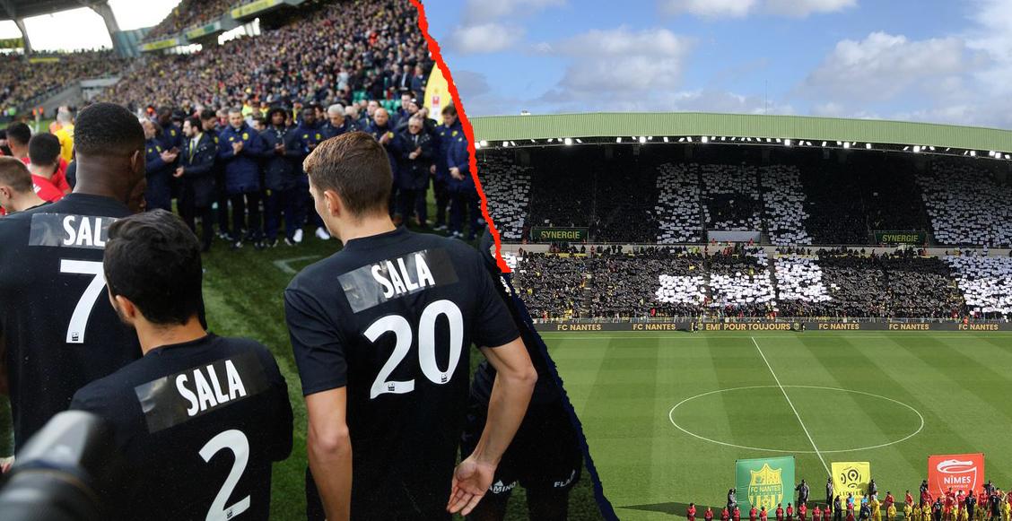 ¡Para llorar! El emotivo 'último adiós' del Nantes para Emiliano Sala