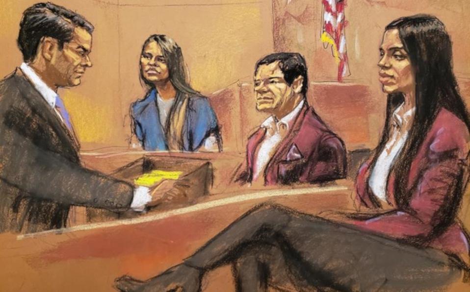 Hoy en Narcos casos de la vida real: Les dejamos las 4 cosas que perecían telenovela en el juicio del Chapo