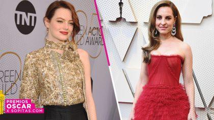 Este fue el gran gesto que Emma Stone tuvo con Marina de Tavira antes de los Oscar 2019