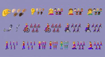 Más inclusivos, más efectivos: Estos son todos los emojis que llegarán en 2019