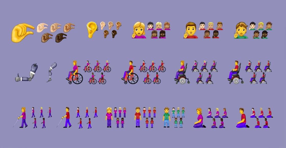 Más inclusivos más efectivos: Estos son todos los emojis que llegarán en 2019