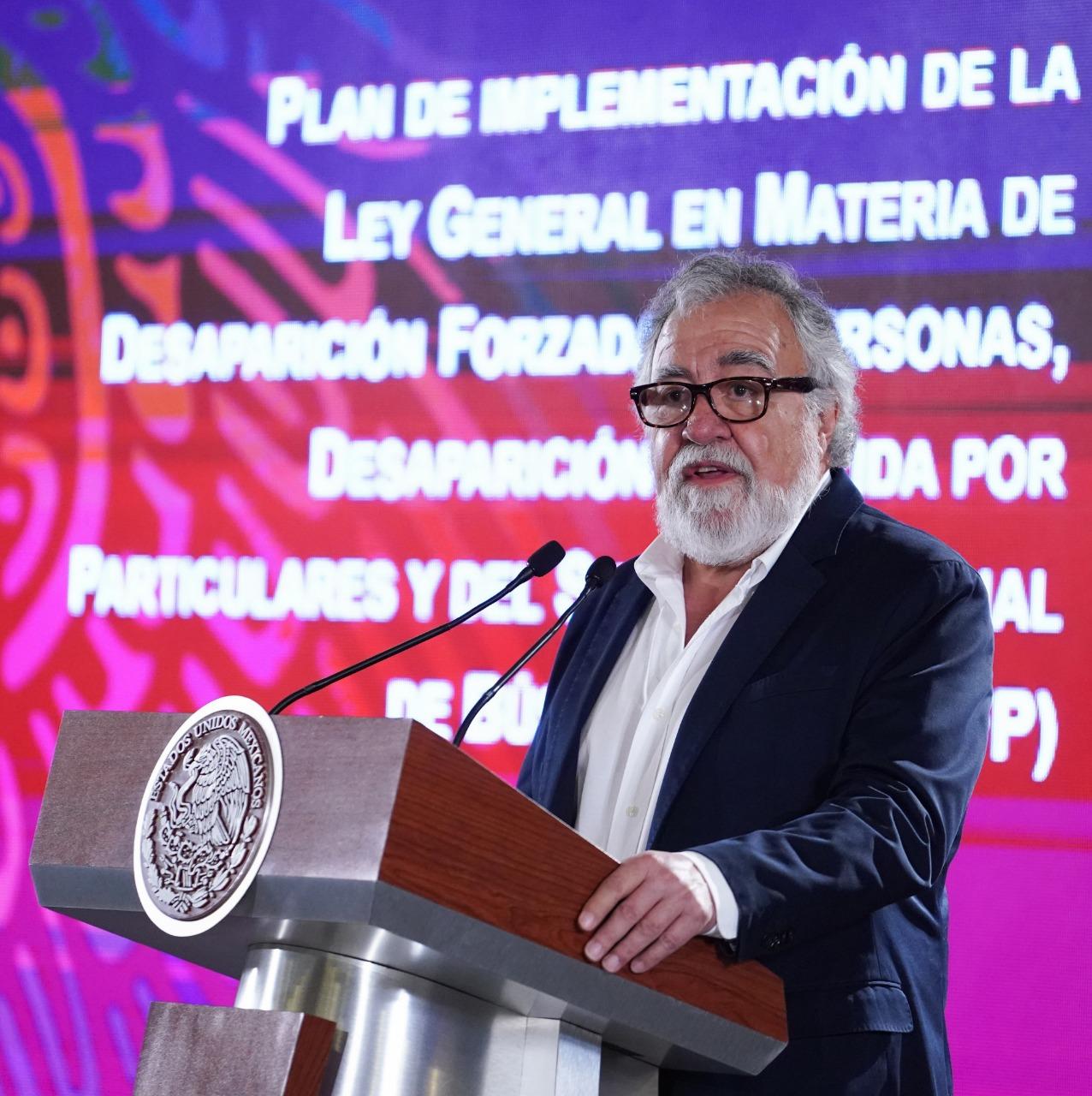 Alejandro Encinas, Estrategia de Búsqueda de Desaparecidos