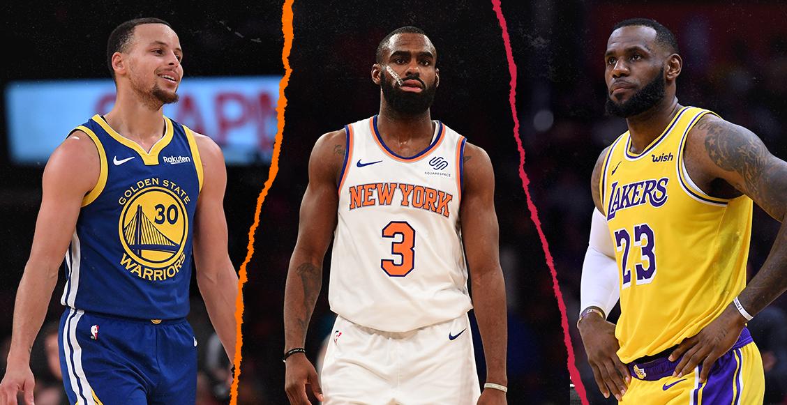 Estos son los equipos más valiosos de la NBA, según Forbes