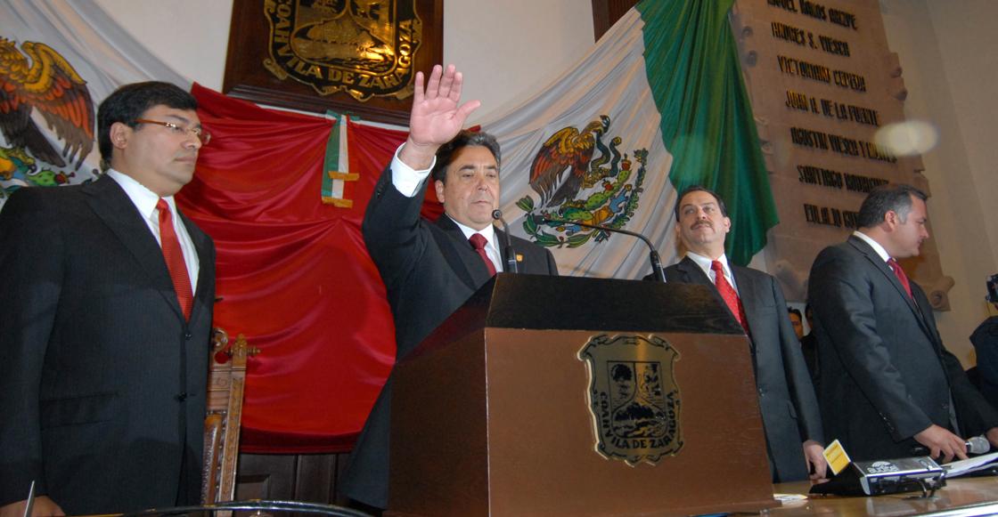 Detienen a Jorge Torres López, exgobernador de Coahuila por lavado de dinero