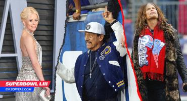 'Machete' y otros famosos que apoyan a los Rams o Pats en el Super Bowl