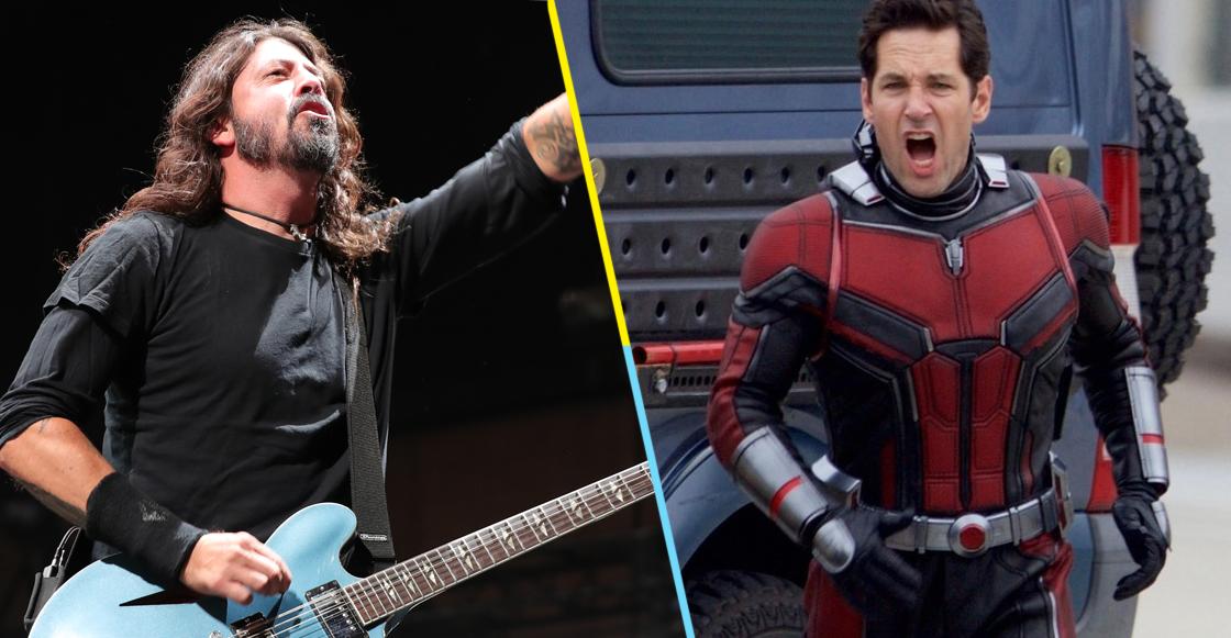 Tienes que ver a Ant-Man rockeando durísimo en el concierto de Foo Fighters