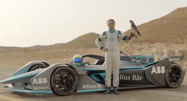 Un Fórmula E retó al animal más rápido del planeta y este fue el resultado