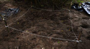 Encuentran en Tecomán, Colima, 19 cuerpos en 11 fosas clandestinas