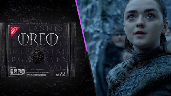 Cookies are coming: Pelea por el trono con las Oreo de 'Game of Thrones'