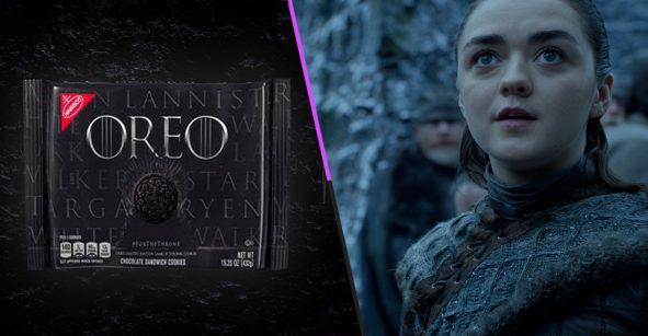 Cookies are coming: Pelea por el trono con las Oreo de 'Game of Thrones'