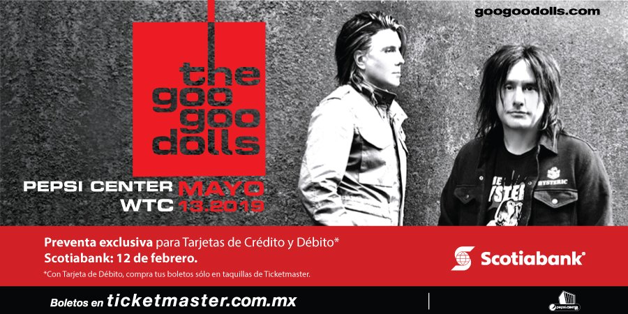 And all I can taste is this moment: Goo Goo Dolls dará un concierto en la CDMX
