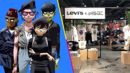I got sunshine in a bag! Gorillaz lanzará una línea de ropa junto a Levi's