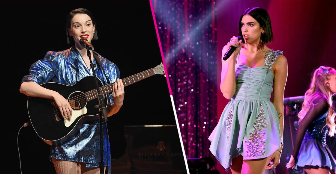Dua Lipa junto a St. Vincent y más presentaciones para los Grammy Awards 2019