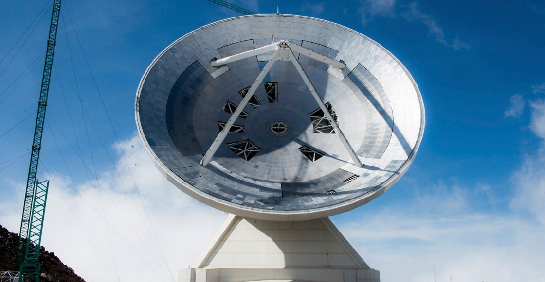 Huachicoleros ponen en jaque al Gran Telescopio Milimétrico de Puebla