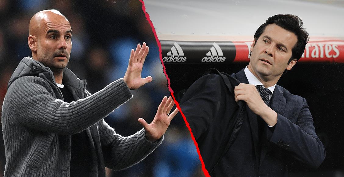 Guardiola ya dijo a Solari por qué el Madrid no es el equipo de la década