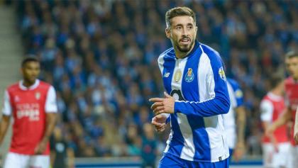 ¡Definición de crack! El soberbio gol de Héctor Herrera con el Porto