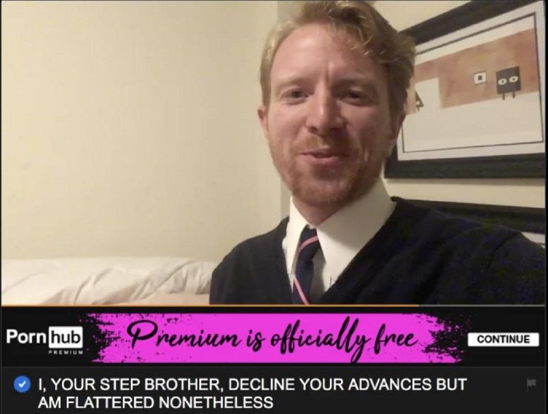 El sujeto que sube videos cómicos a Pornhub