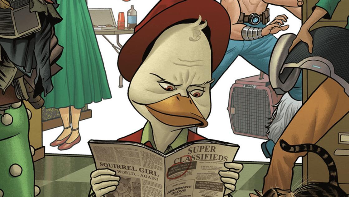 Howard the Duck - Cómics