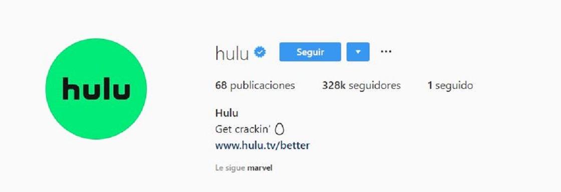 Hulu compra publicidad del huevo de Instagram