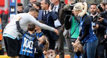 ¡Tensión en el Inter! Apedrean el auto de Wanda Nara, la esposa de Icardi; sus hijos iba a bordo