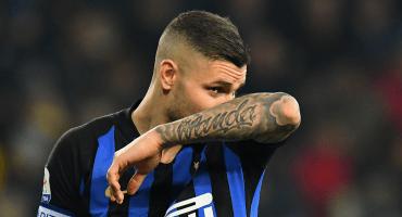 Inter niega lesión de Icardi y lo deja fuera de la Europa League otra vez