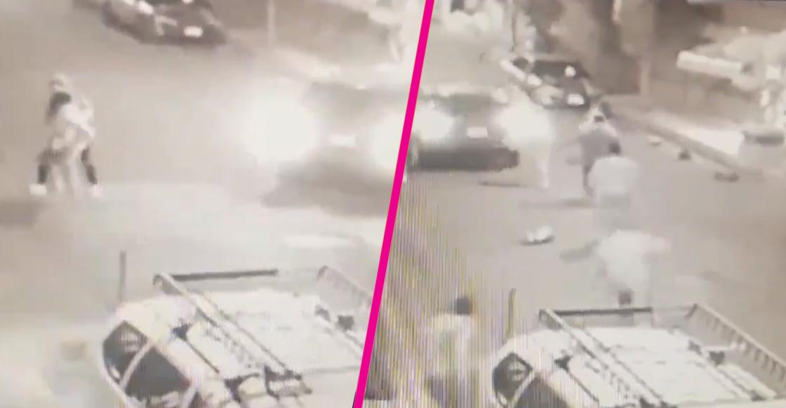 Video: Así fue como vecinos impidieron el secuestro de una mujer en Coyoacán