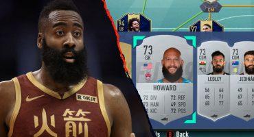 El divertido 'Ultimate Team' en el FIFA 19 de James Harden lleno de barbones