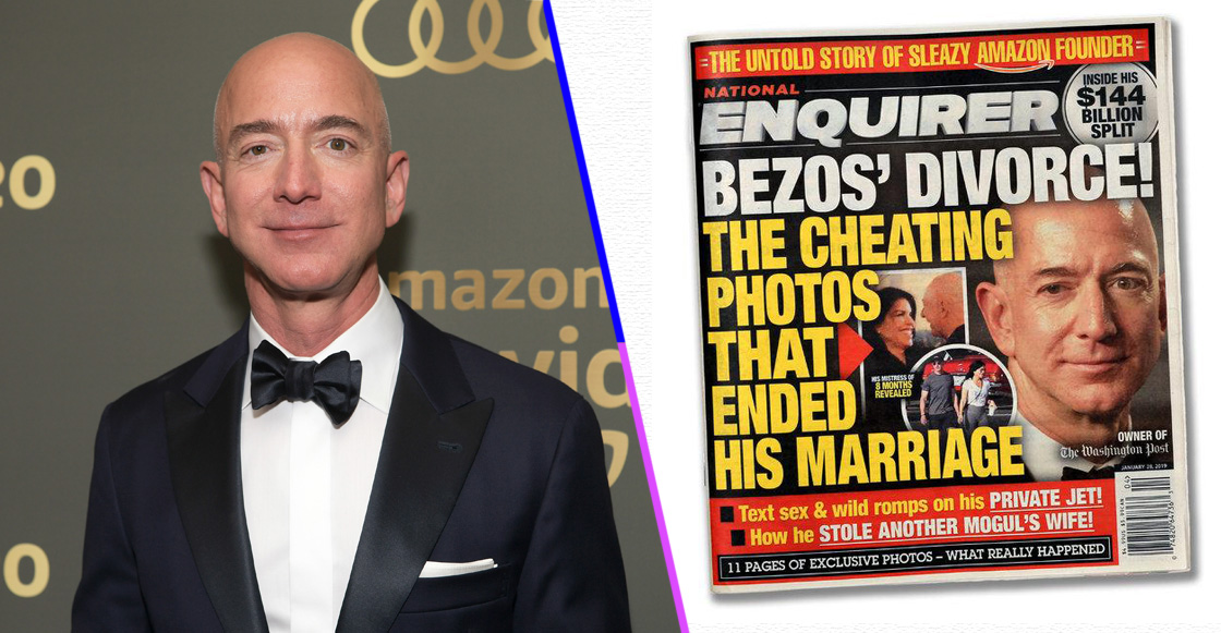 Jeff Bezos demanda a National Enquirer por extorsión con selfies suyas desnudo