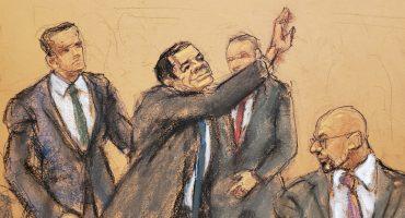 El Chapo solicita al juez agua embotellada, tapones para oídos y tiempo al aire libre