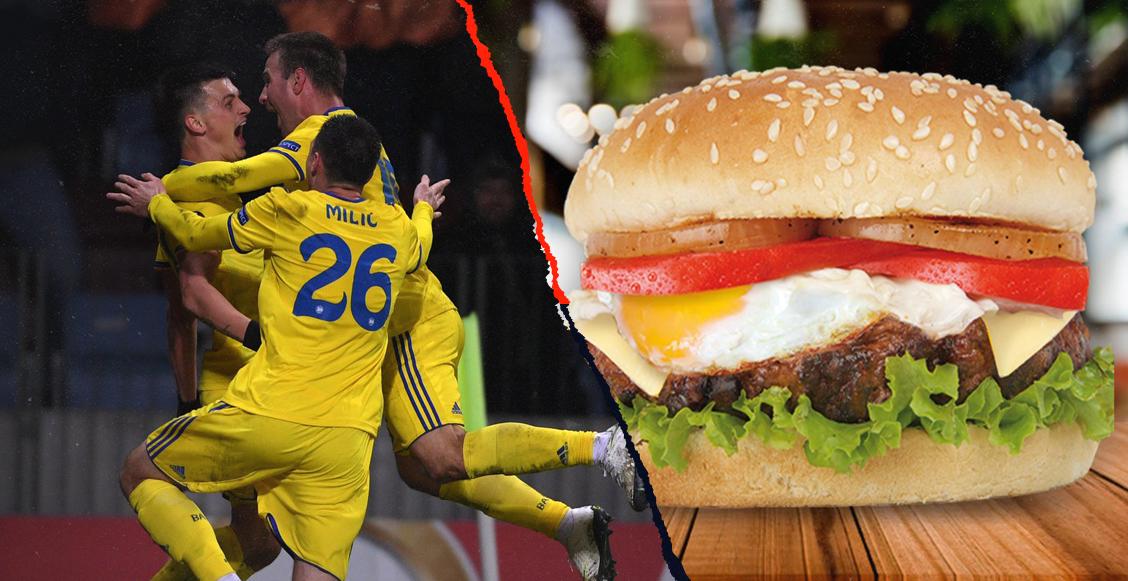 BATE Borisov le ganó al Arsenal ¡y celebraron con fiesta y hamburguesas!