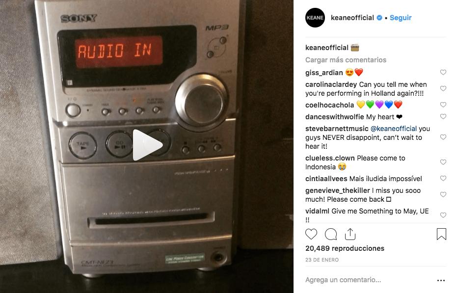 ¡Nuestras plegarias han sido escuchadas! ¡Keane confirma que ya está trabajando en nuevo disco!